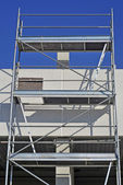 Scaffold in a workplace — Stock Photo