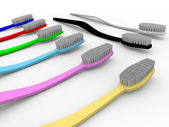 Toothbrushes — Stock Photo