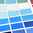 Color patches — Stock Photo