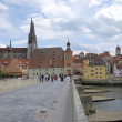 Stonebridge in Regensburg — Stock Photo