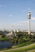 Munich Olympia Park — Stock Photo