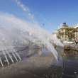 Foto Stock: Stachus fountain