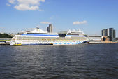 Cruise ship AIDAblu — Stockfoto