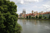 Medieval Regensburg — Stock Photo