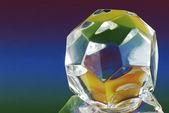Botão de vidro — Fotografia Stock