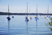 Sail boats — Stock Photo