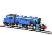Zabawka lokomotywa — Zdjęcie stockowe