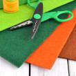 Stock Photo: Crafting supplies