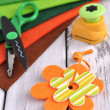 Crafting supplies — Stock Photo #10187978