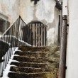 Grunge stairs in old town — Stock Photo #10188212