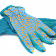 Gardening gloves — Stock Photo