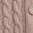 Cable Knitted Background - Stock Photo