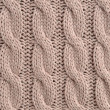 Cable Knitted Background — Stock Photo #10220445