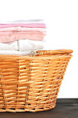 Pink Baby Laundry — Stock Photo