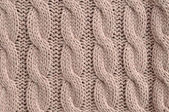 Cable Knitted Background — Stock Photo