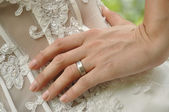 Wedding ring — Stock Photo