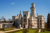 Castle in Hluboka nad Vltavou, Czech Republic — Stock Photo