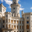 Castle in Hluboka nad Vltavou, Czech Republic — Stock Photo #10383372
