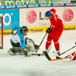 University hockey league final match — Foto Stock