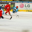 University hockey league final match — Stock Photo