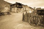 Ghost town — Stock Photo