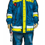 Fireman — Stock Photo #9020591