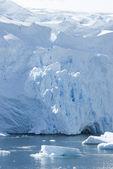 The ice sheet of Antarctica. — Stock Photo