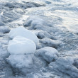 Stock Photo: Icy coast of Antarctica.