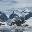 Stock Photo: Mountains of Antarctic- 4.