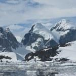 Mountains of Antarctica - 4. — Stock Photo