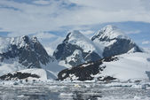 Mountains of Antarctica - 4. — Stock Photo