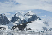 The mountains of the Antarctic - 3. — Stock Photo