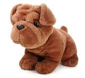Plush dog. — Stock Photo