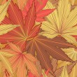 Royalty-Free Stock Imagem Vetorial: Autumn Leaf Seamless Background