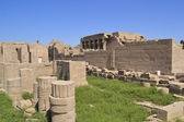 Remains of the temple of Dendera — Stock Photo