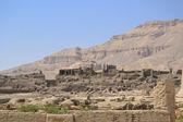 Part of Medinat Habu temple in Luxor — Stockfoto