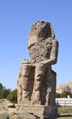Colossus of Memon in Luxor — Stock Photo