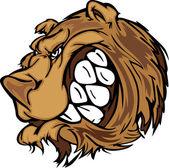 Bear Grizzly Mascot Head Vector Cartoon — Stock Vector