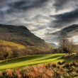 Stock Photo: Cadair Idris mountain range