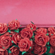 Stock Photo: Red roses isolated