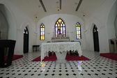 Wewnątrz kościoła — Zdjęcie stockowe