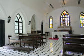 Inside Church — Stock Photo