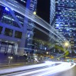 Hong Kong Night Scene — Stock Photo