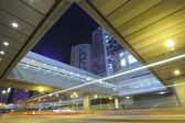 Hong kong gece çekimi — Stok fotoğraf
