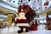 Christmas Decoration in Hong Kong — Stock Photo