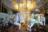 Carrousel at Night — Stock Photo
