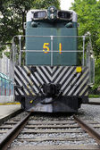 Outside view of Train on Rail — Stock Photo