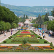 Resort Boulevard Kislovodsk - Stock Photo