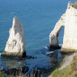 Etretat normandy, france — Stock Photo