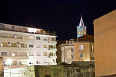 Zadar urban zone night scene — Stock Photo